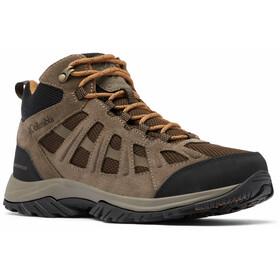 Columbia Redmond III Mid Waterproof Shoes Men, marron/noir